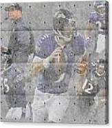 Baltimore Ravens Team Canvas Print