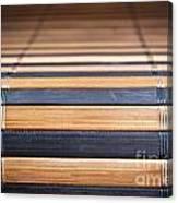Bamboo Mat Texture Canvas Print