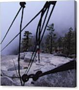 Bandaloop Dance Company, Yosemite, Ca Canvas Print