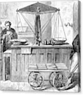 Bank Of England, 1872 Canvas Print
