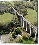 Barbin Sèvre Viaduct, Saint Laurent Canvas Print