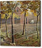 Barrel Spring Canvas Print
