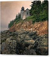Bass Harbor Head Light II Canvas Print