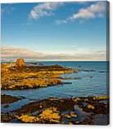 Bass Rock From Dunbar Canvas Print