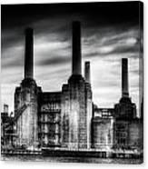 Battersea Power-station London Canvas Print