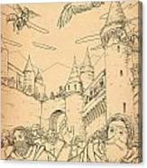 Battle At Unterwaldon Canvas Print