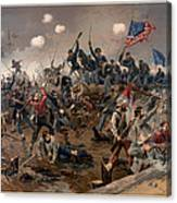 Battle Of Spottsylvania Canvas Print