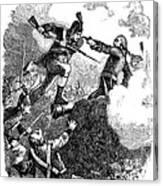 Battle Of Stony Point, 1779 Canvas Print