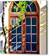 Bay Window Canvas Print