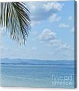 Beach Background Canvas Print