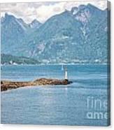 Beacon At Snug Cove Canvas Print