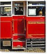 Beamish Tramways Canvas Print