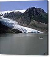 Bear Glacier Canvas Print