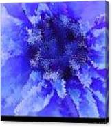 Beast Of Burden Blue Canvas Print
