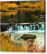 Beautiful Water Canvas Print