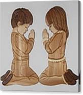 Bedtime Prayers Canvas Print