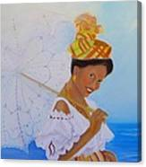 Belle Creole Canvas Print