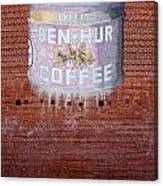 Ben Hur Coffee Canvas Print