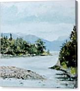 Berks Lake Canvas Print
