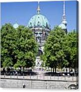 Berlin Catherdral Canvas Print