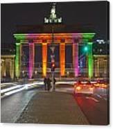 Berlin Lights Canvas Print