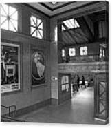 Berlin Train Station Canvas Print