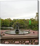 Bethesda Fountain Nyc Canvas Print