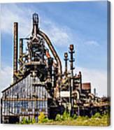 Bethlehem Steel Mill Canvas Print