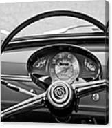 Bianchina Steering Wheel Canvas Print