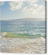 Big Beach Canvas Print