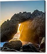 Big Sur Sunbeam Canvas Print