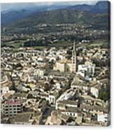 Binissalem, Mallorca Canvas Print
