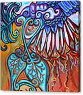 Bird Heart I Canvas Print