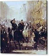 Bisi, Michele 1788-1874. Entrance Canvas Print