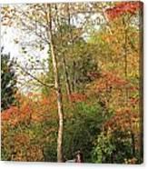 Blanket Of Leaves Canvas Print