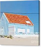 Blue Fisherman House Canvas Print