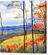 Blue Ridge Mountains Of West Virginia Canvas Print