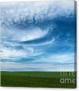 Blue Skies Canvas Print