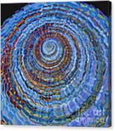 Blue World Canvas Print