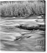 Blur Motion Stream Canvas Print