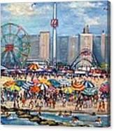 Boardwalk New Jersey Canvas Print