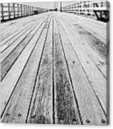 Boardwalk Of Distance Canvas Print