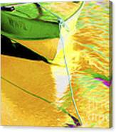 Boat Abstract Canvas Print