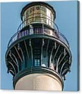 Bodie Island Lighthouse Obx Cape Hatteras North Carolina Canvas Print