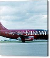 Boeing B737-200 Canvas Print