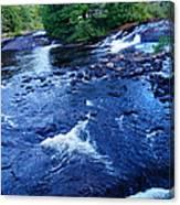 Bog River Falls Canvas Print