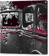 Bonnie And Clyde Death Car South Of Gibsland Toward Sailes Louisiana May 23 1933-2013 Canvas Print