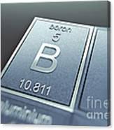 Boron Chemical Element Canvas Print