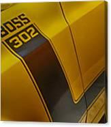 Boss 302 Canvas Print