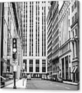 Boston Downtown Canvas Print